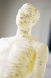 acupuncture points lie along the definite lines