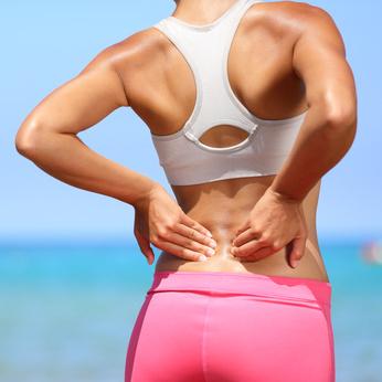 Rückenschmerzen mit Gewichtsverlust